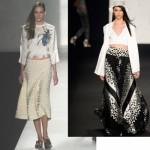 Modelos de saia verão 2014