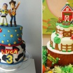 Duas opções de bolos para meninos.  (Foto:Divulgação)