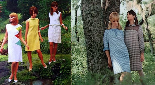 As mulheres dos anos 60 eram delicadas, mas com um visual mais ousado. (Foto:Divulgação)