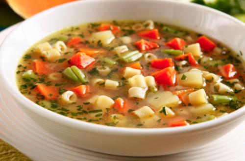 Receita fácil de sopa de legumes