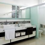 Opção adesiva para banheiros modernos (Foto: Divulgação)