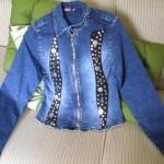 Diferentes objetos metalizados, aplicado na jaqueta (Foto: Divulgação)