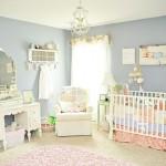 O bebê pode ficar em um canto do quarto. (Foto: divulgação)