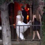 Detalhes do vestido branco ainda não foram divulgados (Foto: Divulgação)