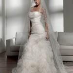 Os vestidos de noiva caem muito bem. (Foto: divulgação)