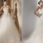 Os vestidos de noiva princesa são muito bonitos. (Foto: divulgação)