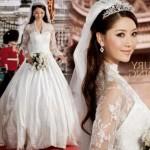 Os vestidos de noiva são peças muito bonitas. (Foto: divulgação)