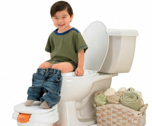 Como ensinar a criança a usar o vaso sanitário