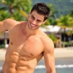 O rapaz venceu o Mister Brasil 2011. (Foto:Divulgação)