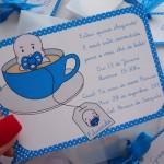 O convite para o chá de bebê pode ser criativo.(Foto:Divulgação)