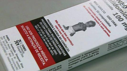 Talidomida: medicamento que causa defeitos em bebês