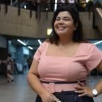 Perséfone está servindo de exemplo para as mulheres plus size. (Foto:Divulgação)