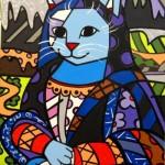 O artista segue a linha do movimento pop art. (Foto:Divulgação)