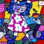 O pintor faz sucesso na moda, na decoração e na publicidade. (Foto:Divulgação)