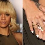 Unhas decoradas de Rihanna.  (Foto:Divulgação)