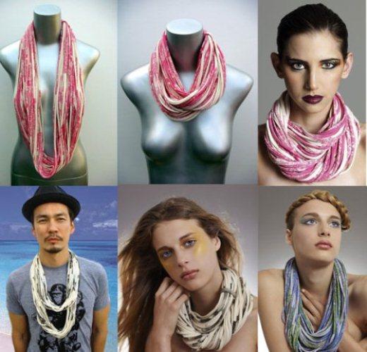 Colares de tecido: dicas, modelos, como usar