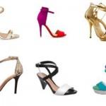As sandálias com tiras estão entre as tendências da moda. (Foto: divulgação)