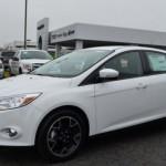 Quem também fez bonito nos testes foi o Ford Focus (Foto: Divulgação)