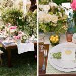 Mesa decorada com flores e outros adornos. (Foto:Divulgação)