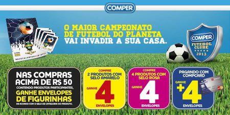 Comper Futebol Clube – Álbum Figurinhas Brasileirão 2013