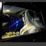 Moranguinho indo para a fetsa de casamento (Foto: Divulgação)