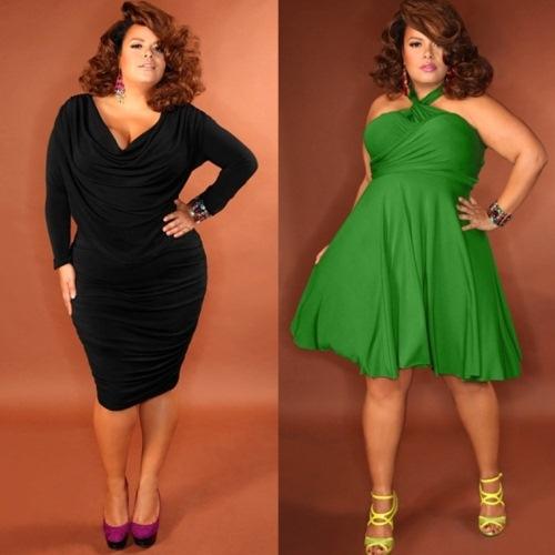 Vestidos plus size para baladas: dicas, fotos