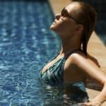 Como cuidar dos cabelos após piscina