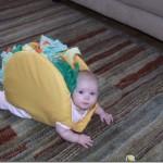O bebê virou um lanche avantajado (foto: Divulgação)