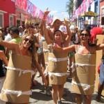 Elas são rolos de papel higiênico no final (Foto: Divulgação)