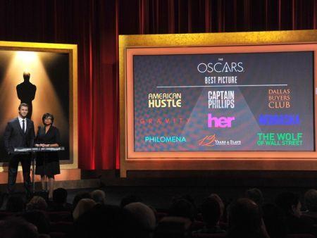 Lista de indicados ao Oscar 2014