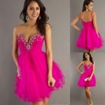 Vestido rosa super feminino para formatura (Foto: Divulgação)