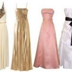 Tipos de vestido de formatura (Foto: Divulgação)