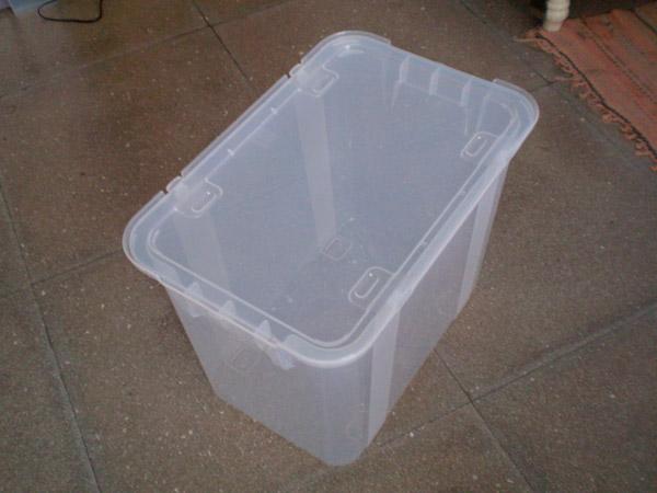 Caixa de plástico