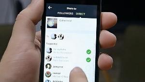 como usar o direct do instagram