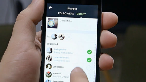 como usar o direct do instagram 1