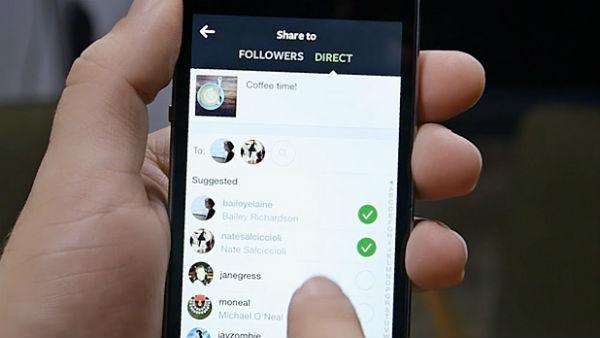 como usar o direct do instagram 1