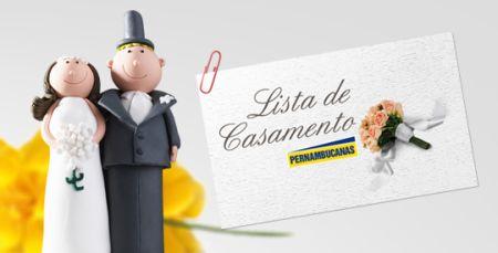 Lista de casamento Pernambucanas (Foto: Divulgação)