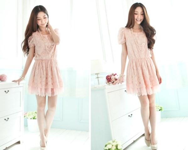 Modelos de vestido de renda 61