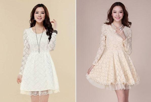 Modelos de vestido de renda 64
