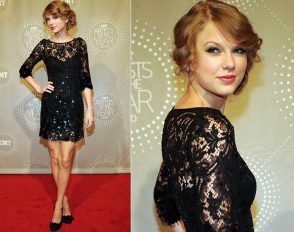Modelos de vestido de renda 65