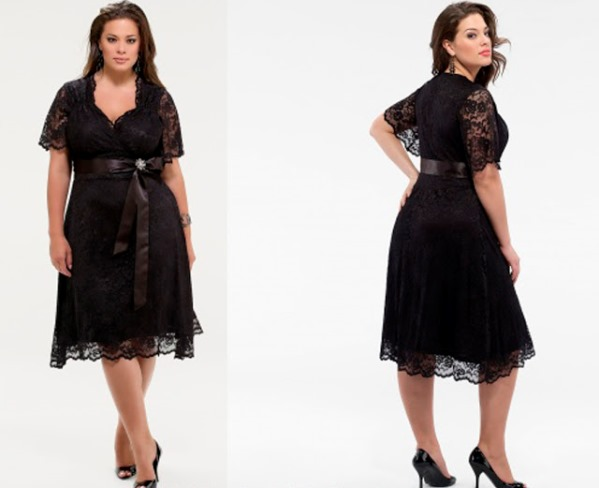 Modelos de vestido de renda 68