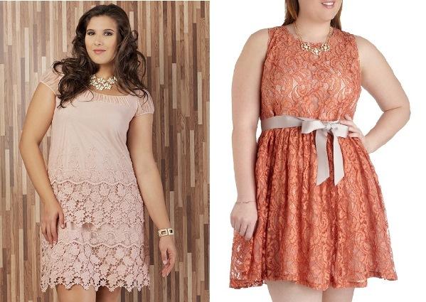 Modelos de vestido de renda 100