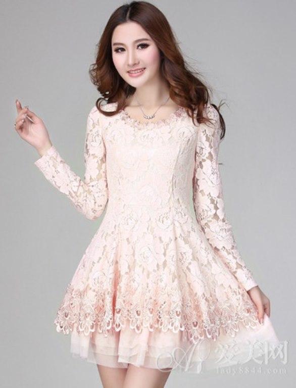 Modelos de vestido de renda 69