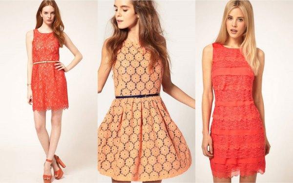Modelos de vestido de renda 75