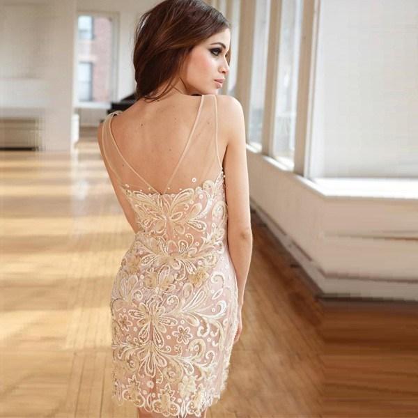 Modelos de vestido de renda 76