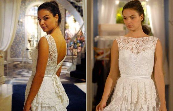 Modelos de vestido de renda 86