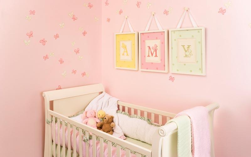 Papel de parede para quarto de bebê  MundodasTribos – Todas as tribos em um