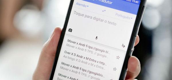 Google Tradutor com Áudio online
