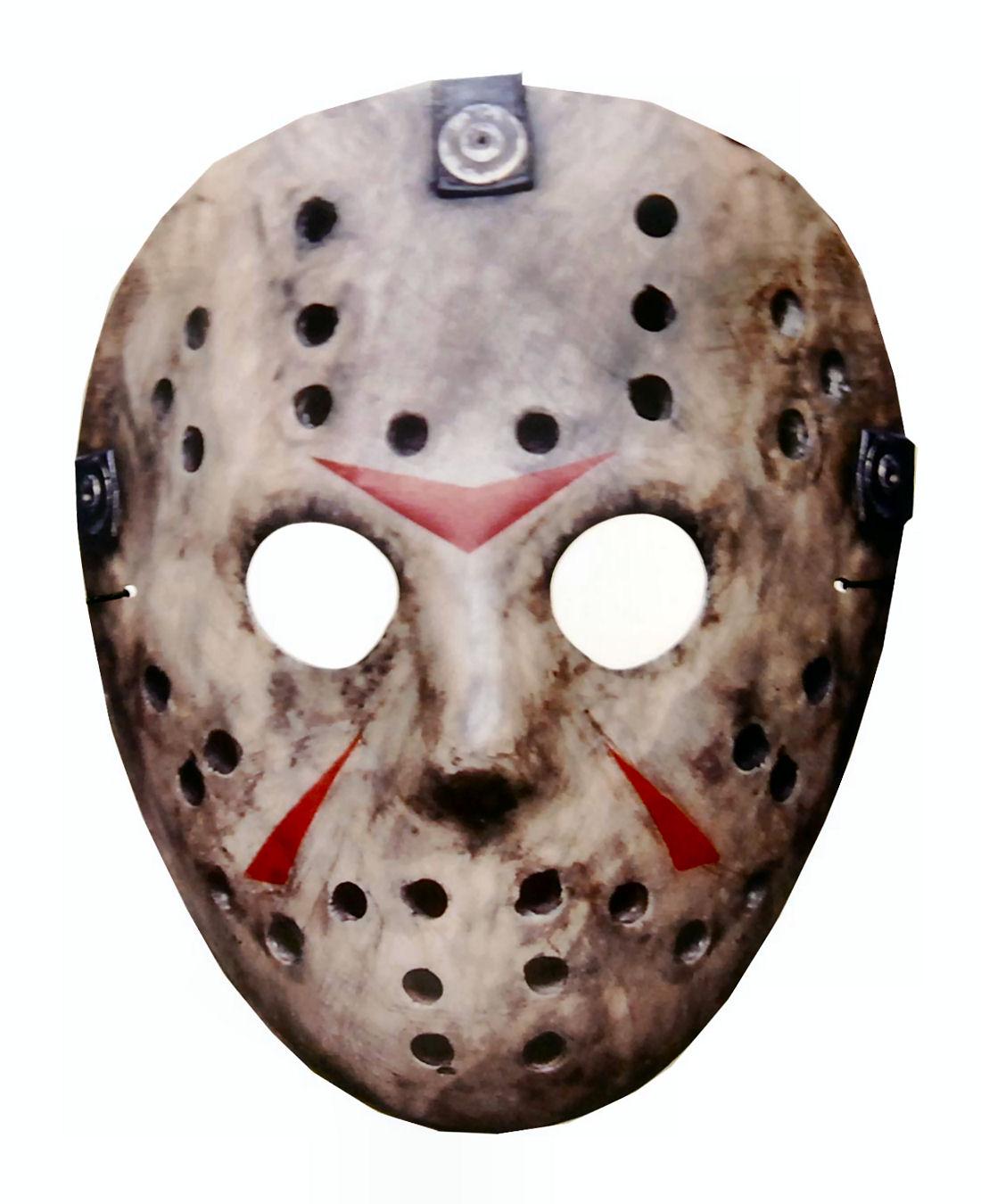 mascara de halloween jason