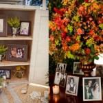 Use fotos na decoração do casamento. (Foto: Divulgação)
